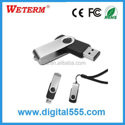classical twister usb pen drive 8gb with free logo printing