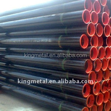 ASTM A106/A53/API 5L/ GR.B /X42/X52 seamless carbon steel pipe for liquid transporation