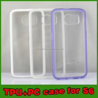 New Mobile Phone TPU+PC Case For Samsung Galaxy S6, Wholesale Case For Samsung