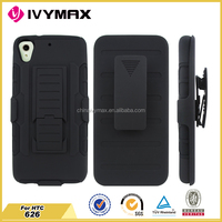 accessories hot selling mobile phone case for HTC626 PC+silisone bumper case