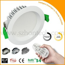 Downlight Led Dimmable Australian Standard SAA CE Cutout 90mm 12w Led Downlight For Dimmable LED downlight manufacture supply