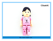 China factory wholesale gift nurse usb flash drive 512gb doctor usb stick