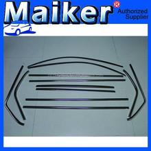 12 Pcs/Set Car Side Window Trims for Nissan X-Trail 2012+ Car Window Moulding Trims Parts