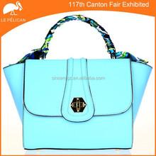 2015 New design women PU lady handbag leather handbag 15SH-3690M