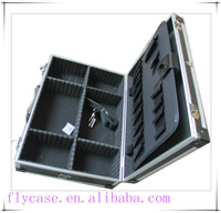 new travel aluminum case tool set,aluminum tool box with cut-out foam insert