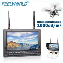 high brightess and sensitivity 5.8g wireless hdmi transmitter and receiver monitor led back hdmi video input rc model aircraft