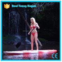 Plastic Cheap Kayak Paddle Sup Boards