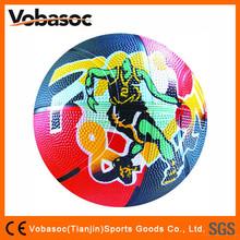 Custom Logo Rubber Toy Basketball