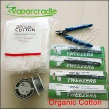 In Sotck! best quality vapor tools Koh Gen Do Japanese organic cotton/resistance wire/ceramic tweezer