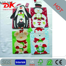 3D reindeer xmas handmade gift paper shopping bag