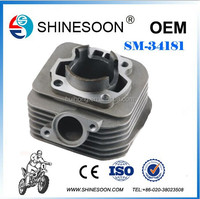 Motorcycle Parts Motorcycle Engine Parts Cylinder block for Chinese AG 100cc Engine 52.5mm dameter