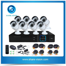 best selling onvif outdoor cctv 8 channel hd camera, ip camera with nvr