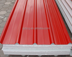 CE and ISO thermal insulation Building Material roof sandwich wall panel