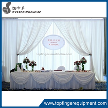 TFR 2012 top quality Elegant Aluminum Pipe And Drape For indoor wedding