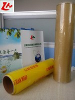 Recycled clear laminated food grade plastic film