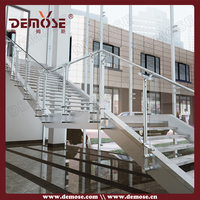 tempered glass copper pipe fittings railings