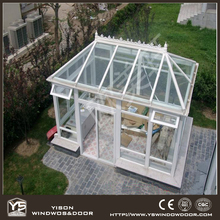 Aluminum Garden Green House Outdoor Glass Garden Room