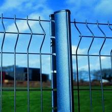 Aluminum powder coated metal fence panels