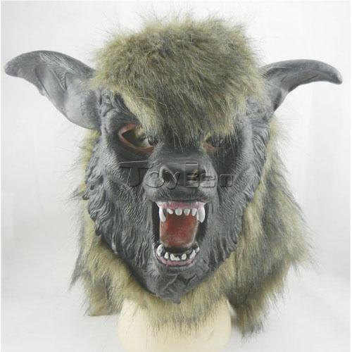 Horror Wolf Mask for Masquerade Party Halloween Mask Cosplay Mask Latex