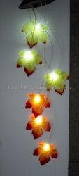 Color Changing Autumn Leaves Dangler Solar