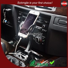 universal cell phone car holder adjustable ABS material mobile phone holder car mount charger