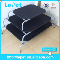 Hot Sale Outdoor Durable Metal Frame Elevated Raised Dog Bed