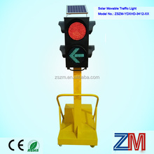 Two Aspects High Brightness Solar Powered Temporary Road Lighting/ Solar Movable Light