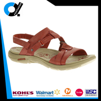 Custom Design Men Leather Slipper Sandal Chappal with Anti-slip Sole