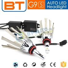 New Design Fanless Good Copper Belt Heat-dissipation H11 H13 LED Headlight For Car