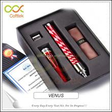 2015 new unique ecigarette brands cofttek bulk buy pen style ego e vapor kit venus