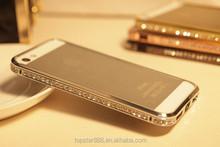 2015 Bling Shining Bumper Diamond Phone Case for iphone 6 6plus