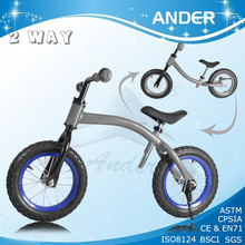 12'' child steel snow scooter for kids with BSCI, CE, EN71