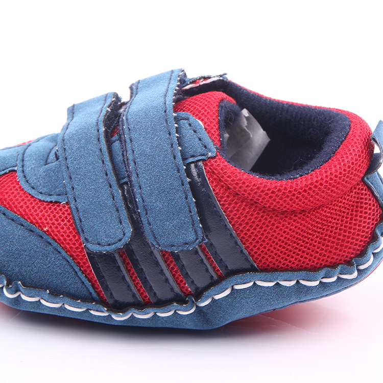 New style cool nubuck leather hard sole baby walking shoes
