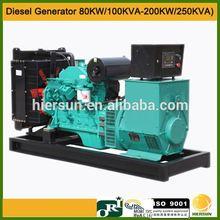 50HZ 60HZ AC three phases 145 kw 181 kva backup power generator