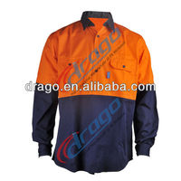 proban fireproof shirt for industrial safety uniform
