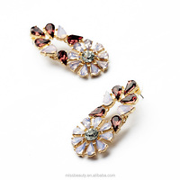 Fancy Crystal Jewelry Pressed Jordan Earrings For Tragus