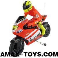 LCM-60210 4ch rc motorcycle 1:10 Remote Control Licensed Motorcycle with a racer