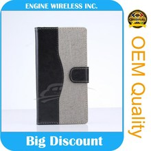 escrow service flip leather case for lg e400 optimus l3