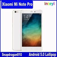 Original Xiaomi Note Mobile Phone Mi Note 4G FDD LTE Snapdragan801 Quad Core 3GB RAM 16GB/ 64GB ROM Camera 13MP 5.7 inch screen