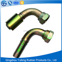 Top level professional hydraulic thread elbow fitting for hydraulic pumps
