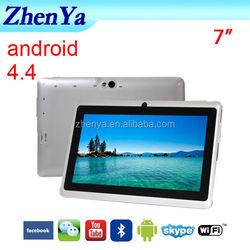Cheapest Tablet Pc With Sim Slot Wifi Bluetooth Two Cameras G-Sensor