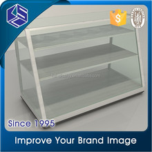 2015 hot sale clear acrylic clothing store showcase &clothing display stand