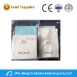 2015 hot selling customize puppy pad puppy training pad wholesalers