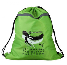 waterproof sublimation/transfer printing 190T 210D 420D Polyester Drawstring Bag