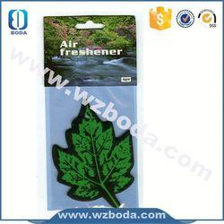 Customized paper room air freshener