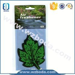 Customized paper fruit smell room air freshener