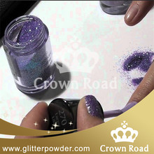 bulk glitter powder star light blue glitter fashion nail art glitter powder