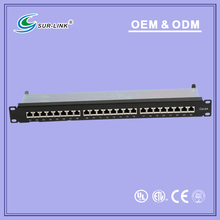 ftp cat.6a patch panel,24 port