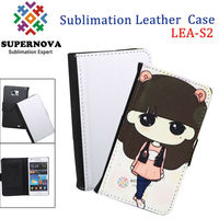 Sublimation Leather Cover for Samsung Galaxy S2 i9100 Made in China