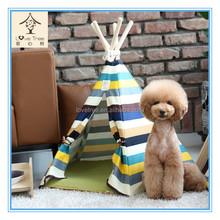 Eco de madeira tenda tenda crianças tenda de lona